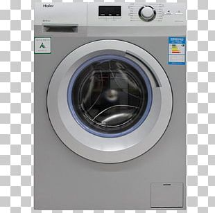 Washing Machine Haier Laundry Home Appliance Clothes Dryer PNG
