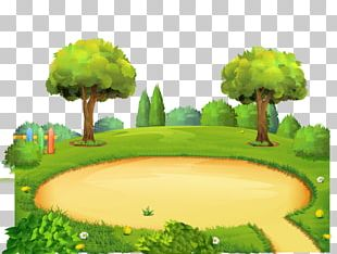 Park Playground Cartoon PNG