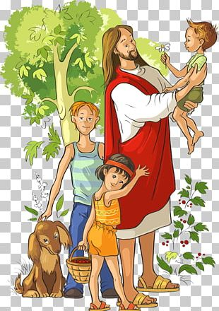 They Met Jesus: A Childs Life Of Christ Child Jesus Illustration PNG