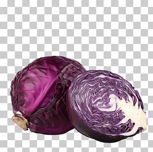 Red Cabbage Cauliflower Organic Food Vegetable PNG