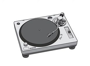 Phonograph Record Turntablism Disc Jockey PNG