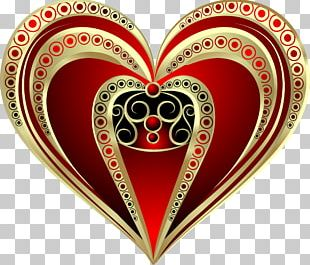 Heart Love Valentine's Day Organ PNG