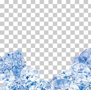Ice Cream Blue Ice Ice Cube PNG