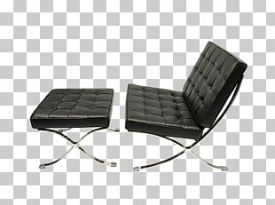 Barcelona Chair Table Couch Furniture PNG