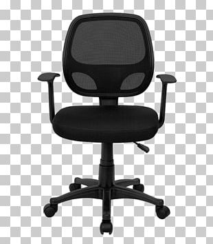 Office & Desk Chairs Swivel Chair Computer Furniture PNG