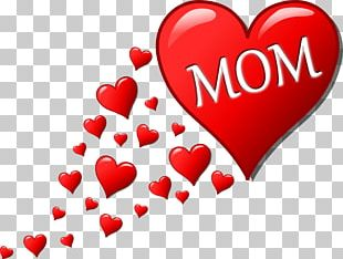 Valentine's Day Mother's Day Heart PNG