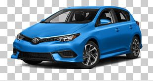 2018 Toyota Corolla IM Hatchback Car Front-wheel Drive Automatic Transmission PNG