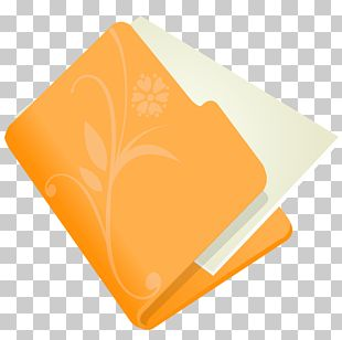 Orange Material Yellow PNG