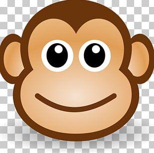 Ape Monkey Drawing PNG