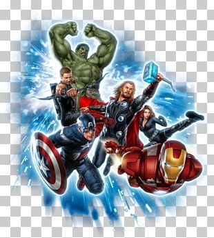 Black Widow Captain America Thor Hulk Superhero PNG
