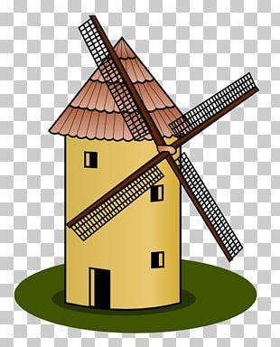 Windmill Wind Farm PNG