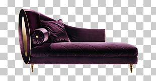 Chaise Longue Wing Chair Couch Daybed PNG