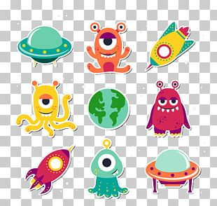 Alien Extraterrestrial Life Unidentified Flying Object PNG