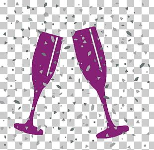Champagne Glass Sparkling Wine Rosé PNG