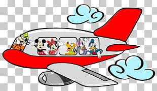 Mickey Mouse Minnie Mouse Airplane The Walt Disney Company PNG
