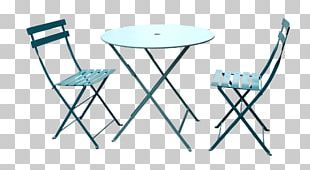 Table Bistro No. 14 Chair Garden Furniture Patio PNG