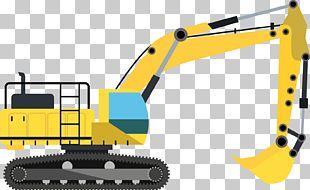 Excavator Architectural Engineering Machine Heavy Equipment PNG
