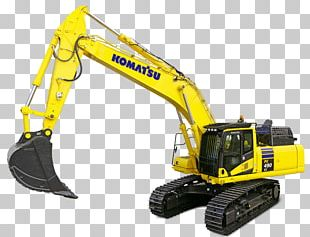 Komatsu Limited Excavator Architectural Engineering Heavy Machinery PNG