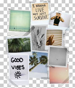 Instant Camera Mood Board Collage Instax PNG