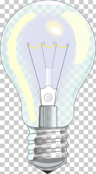 Incandescent Light Bulb Drawing PNG