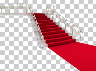 Dubai Red Carpet Stairs PNG