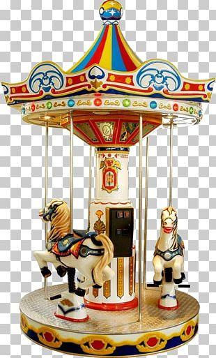 Carousel Horse Amusement Park Kiddie Ride Game PNG