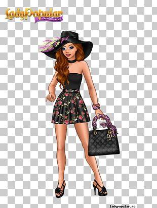 Lady Popular Dress Fashion Game Pin PNG