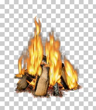 Light Fireplace Wood Combustion PNG