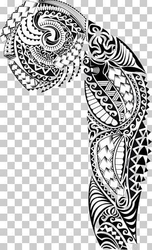 Polynesia Sleeve Tattoo Mu0101ori People Tu0101 Moko PNG