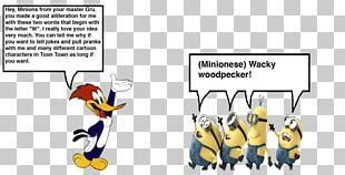 Woody Woodpecker Chilly Willy Minions Humour PNG