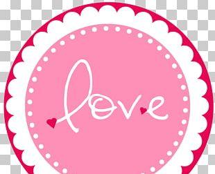 Paper Label Sticker Scrapbooking Valentine's Day PNG