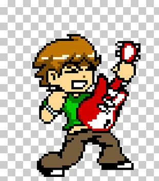 Ramona Flowers Scott Pilgrim Vs. The World: The Game Wallace Wells Pixel Art PNG