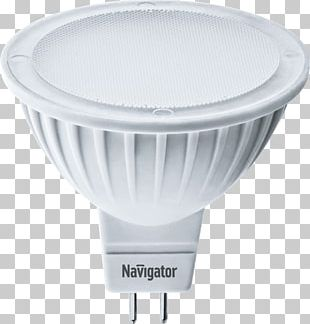 Light-emitting Diode LED Lamp Multifaceted Reflector PNG