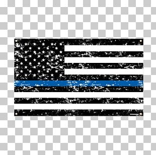 The Thin Red Line Thin Blue Line Flag Of The United States Decal PNG