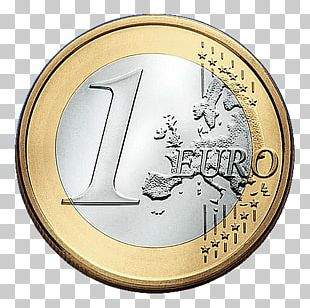 1 Euro Coin Currency Eurozone PNG