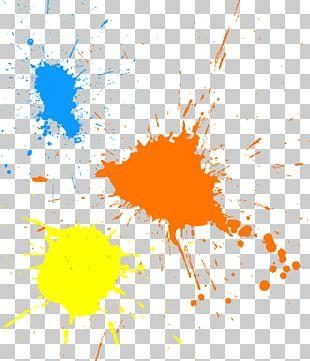 Paint Splash Ink Brush PNG