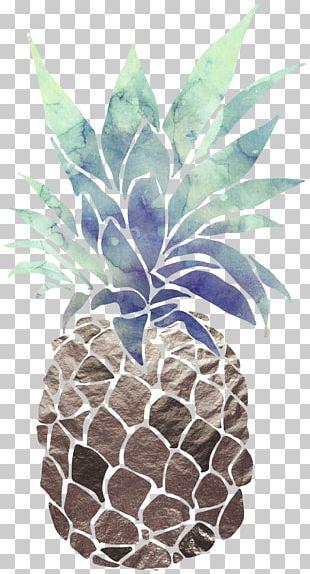 Salsa Pineapple Printing Paper Art PNG