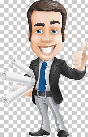 Cartoon Animation Businessperson PNG