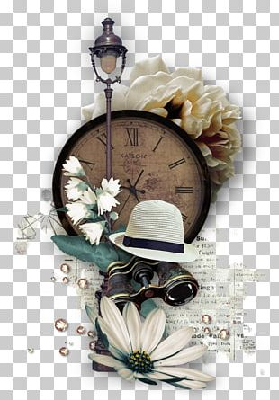 Clock Street Light Hat PNG