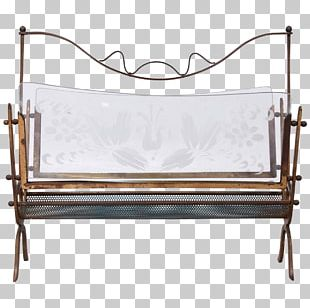 Bed Frame Garden Furniture Couch PNG