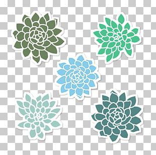 Decorative Arts Floral Design Poster PNG