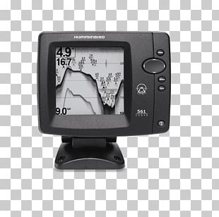 Fish Finders Fishing Sonar Transducer Monochrome PNG