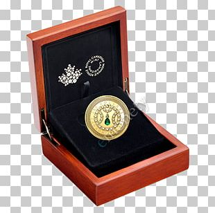 Canada Gold Coin Dollar Coin Royal Canadian Mint PNG