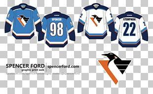 Pittsburgh Penguins Logo T-shirt Ice Hockey Brand PNG