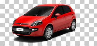 City Car Fiat Punto Fiat Automobiles PNG