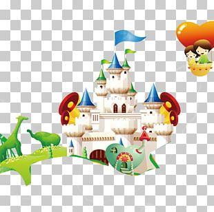 Cartoon Castle PNG