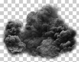 Smoke Transparency And Translucency Black And White PNG