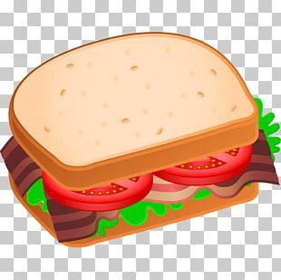 BLT Bacon Sandwich Cheese Sandwich Breakfast Sandwich PNG