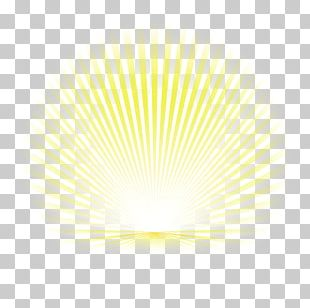 Light Line Angle Point Yellow PNG
