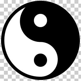 Yin And Yang Symbol I Ching Meaning PNG